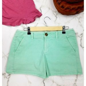 American Eagle Outfitters midi shorts green 8